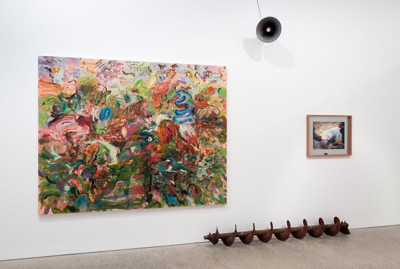 Installation view, George Egerton-Warburton 2019, Heide Museum of Modern Art, Melbourne, Photograph: Christian Capurro