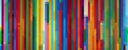 Robert Owen, Cadence #1 (a short span of time) 2003, synthetic polymer paint on canvas, Art Gallery of New South Wales, Sydney, Purchased 2000