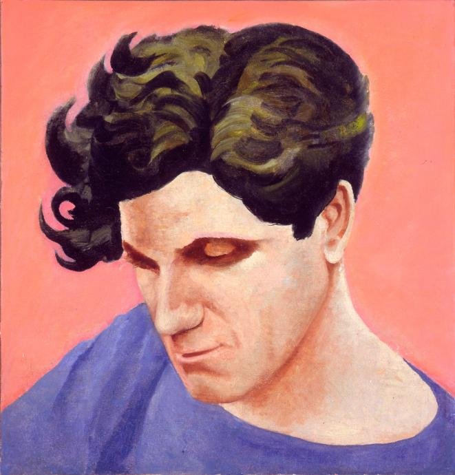 Adrian Lawlor, John Reading c.1938, oil on canvas, 64.5 x 63 cm, Heide Museum of Modern Art, Gift of Barrett Reid 1990, © Estate of Adrian Lawlor courtesy Charles Nodrum