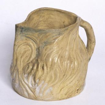 Merric Boyd, Pot c.1935, glazed earthenware, Heide Museum of Modern Art, Gift of Barbara Blackman AO 2014