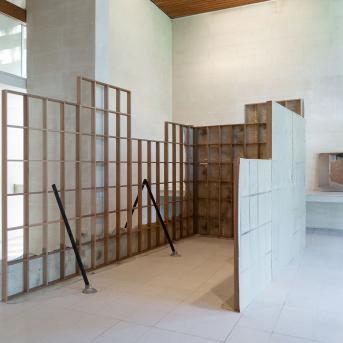 Installation view, Carolyn Eskdale: Memory Horizon, Heide Museum of Modern Art, Photograph: CHristian Capurro