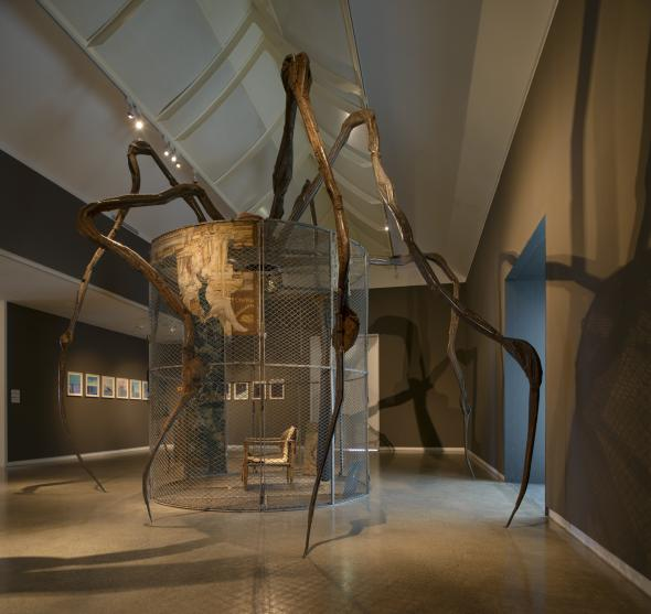 Louise Bourgeois: Late Works installation view 2012, Heide Museum of Modern Art, Melbourne Photograph: John Gollings