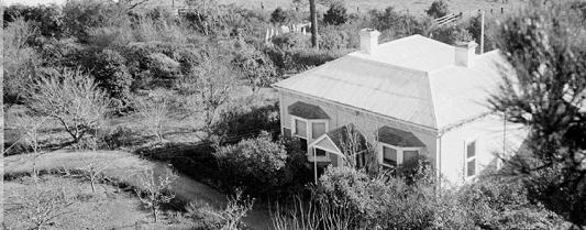 Heide viewed from the trees c.1949, Estate of John Sinclair, reproduced courtesy of Jean Langley, Photograph: John Sinclair