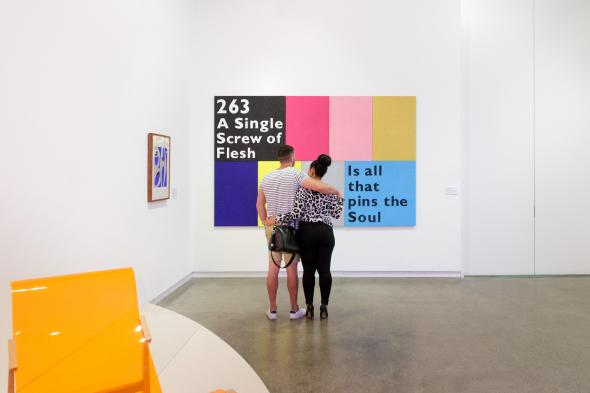 Temptation to Co-Exist: Janet Burchill and Jennifer McCamley 2019, Heide Museum of Modern Art, Melbourne, Photograph: Jeremy Weihrauch