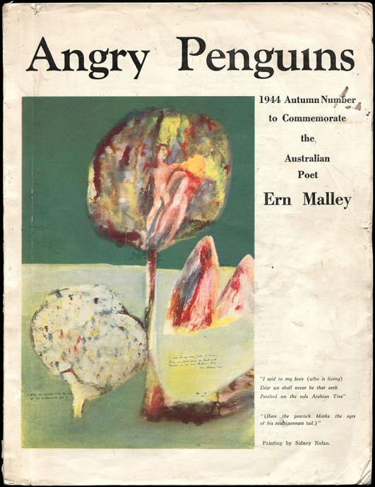 Angry Penguins Autumn 1944, with cover design by Sidney Nolan
