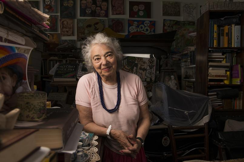 Mirka Mora in her Studio, Photograph: Fred Kroh 2014, © the artist