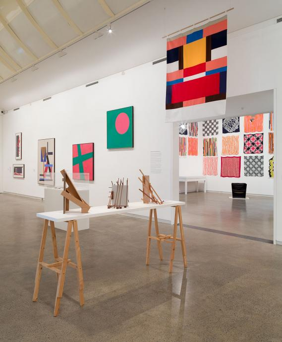 Call of the Avant-Garde: Constructivism and Australian Art installation view 2017, Heide Museum of Modern Art, Melbourne, Photograph: Christian Capurro