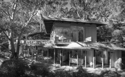 Richard Haughton James House 1956, Architect: Robin Boyd, Photograph: John Gollings