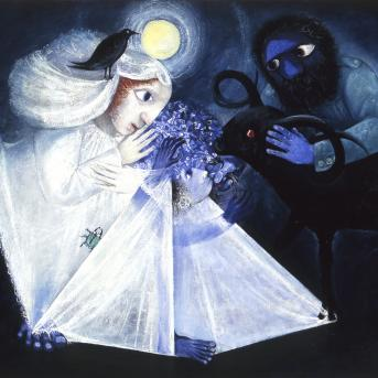 Arthur Boyd, Wedding Group 1957-58, oil and tempera on composition board, 137 x 160 cm, Private Collection, Courtesy of Gould Galleries, Melbourne, © Bundanon Trust