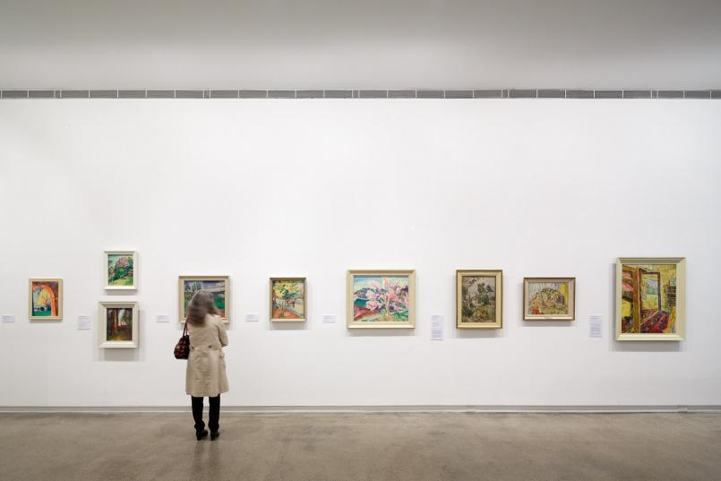 O'Keeffe, Preston, Cossington Smith: Making Modernism, installation view 2016, Heide Museum of Modern Art, Melbourne, Photograph: Jeremy Weihrauch