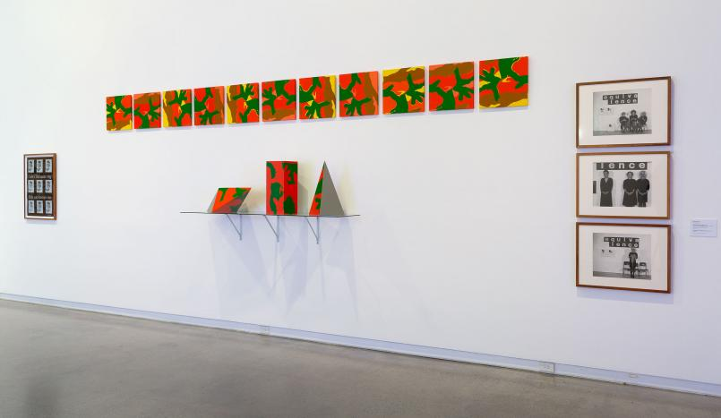 Installation view, Temptation to Co-Exist: Janet Burchill and Jennifer McCamley 2019, Heide Museum of Modern Art, Melbourne, Photograph: Christian Capurro