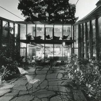Boyd House, Walsh Street, South Yarra 1958, Architect: Robin Boyd, Photograph: Mark Strizic c.1965, © Estate of Mark Strizic