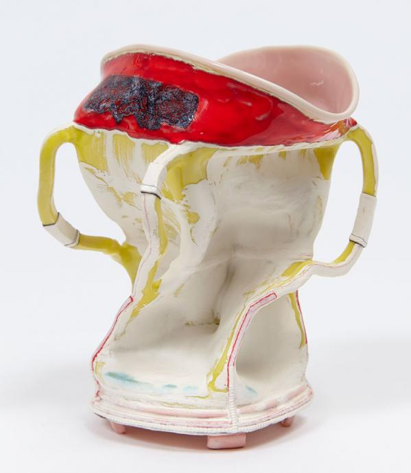 Kathy Butterly, Venus on the Move 2014, clay, glaze, 10.2 x 12.4 x 12.7 cm, Courtesy of the artist and James Cohen Gallery, New York