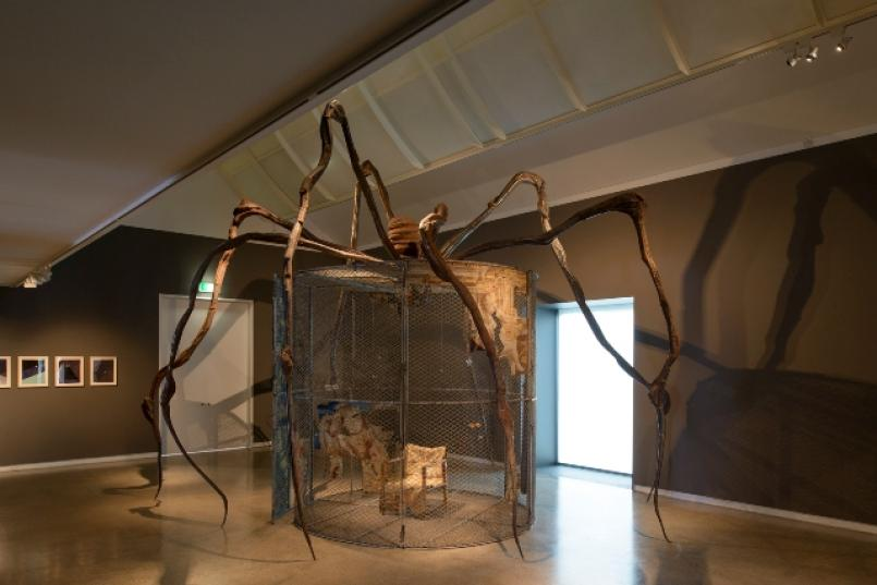 Louise Bourgeois: Late Works installation view, Photograph: John Gollings