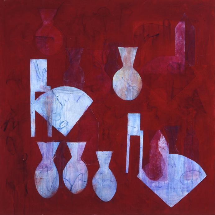 Denise Green, Chapel Rose 2001, synthetic polymer paint on canvas, 167 x 167 cm, Heide Museum of Modern Art, Melbourne, Gift of Robin Bade and Michael Parkin 2001